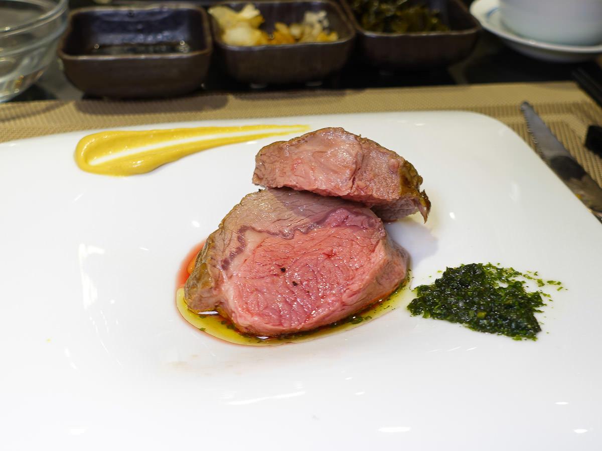 【宜蘭食記】饗宴互動式鐵板燒(新址) 美國藍鑽級羊肉餐酒會嚐鮮