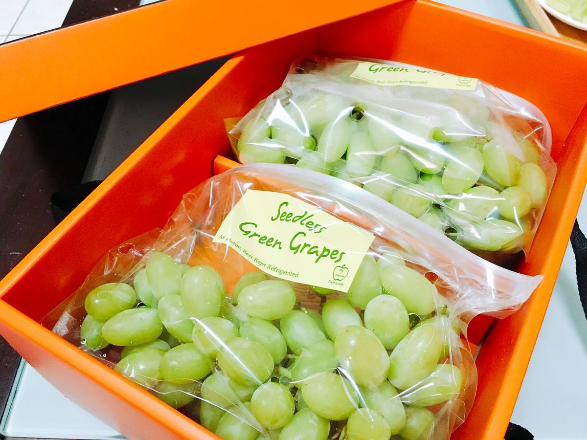 【宅配︱團購︱農產品】加州公爵 綠精靈香水無籽葡萄 被譽為全世界最好吃的綠無籽葡萄品種之一