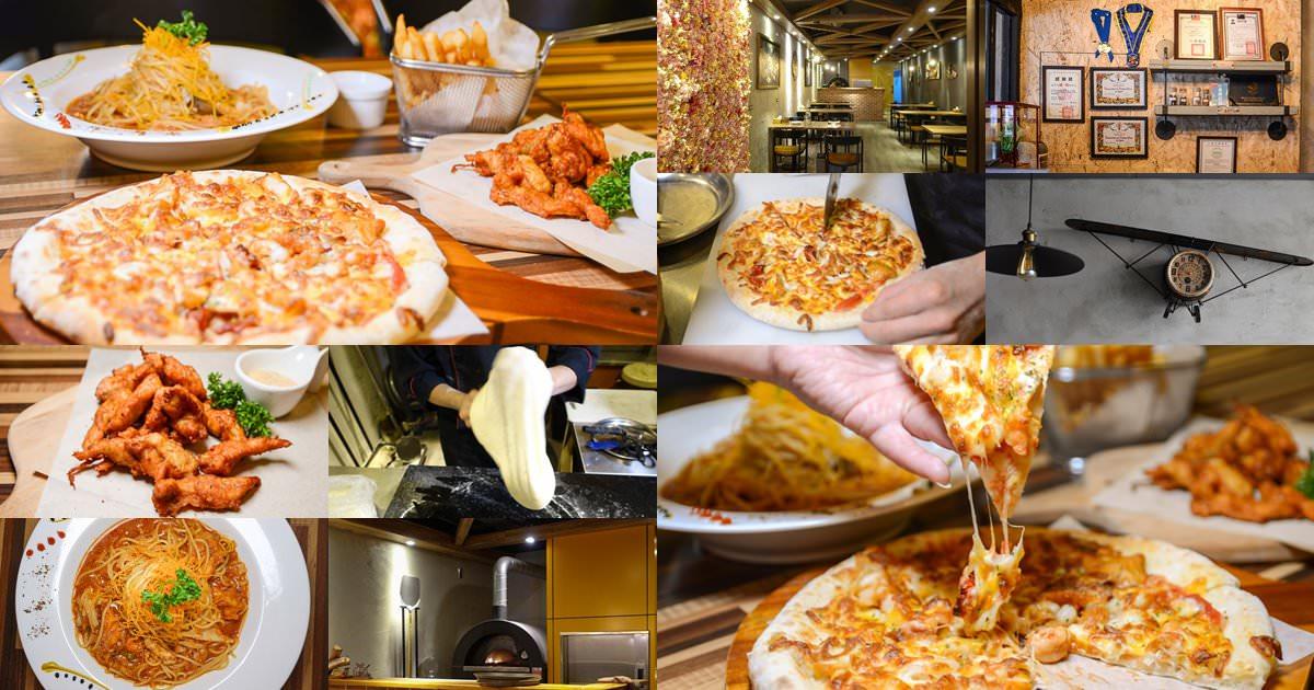 桃園中壢義式推薦|YZY窯主義SOGO商圈個性手工披薩,痛痛快快咬一口