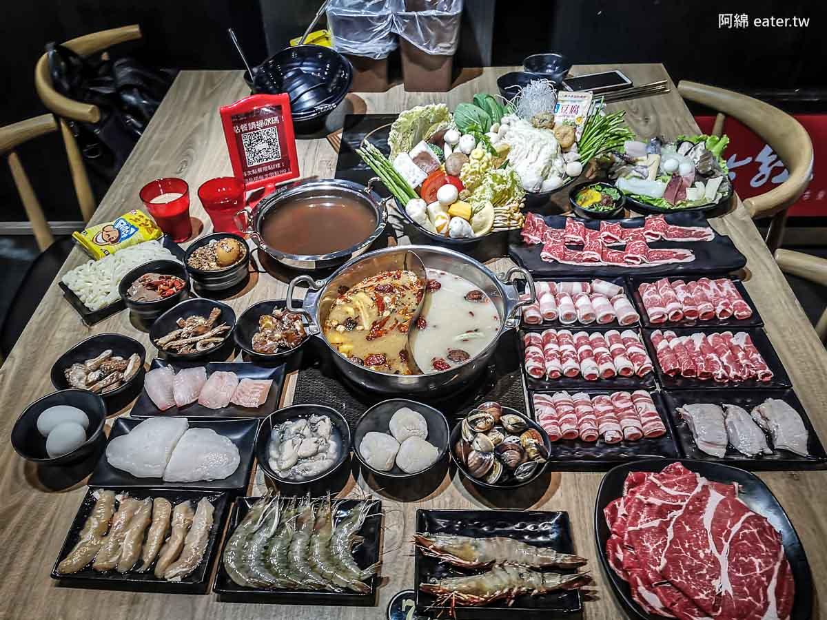 蒙古紅蒙古火鍋(桃園店)|桃園吃到飽推薦-比臉大安格斯牛+海鮮無限加點,一人550元起附餐廳菜單價錢、停車交通2020