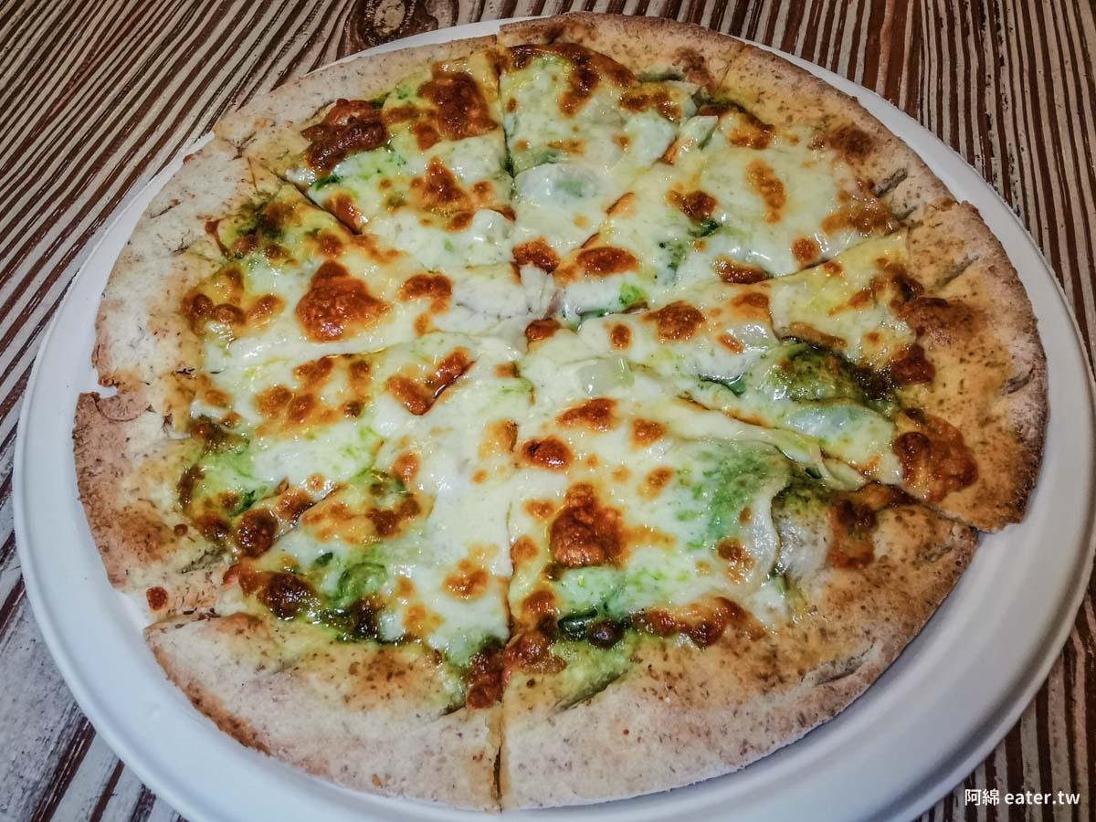 木盒子柴燒窯烤披薩|桃園披薩推薦-浪漫花園裡吃蔬食窯烤披薩當下午茶附餐廳菜單價錢、停車交通2020
